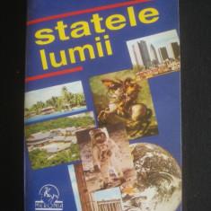 HORIA C. MATEI, SILVIU NEGUT, ION NICOLAE, NICOLAE STEFLEA - STATELE LUMII - Carte Geografie