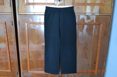 Pantaloni de trening negri Pet Tex foto