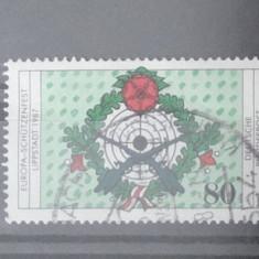 Timbru Germania - 1987 - - Timbre straine