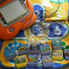 Consola Vtech Vsmile cu foarte multe accesorii