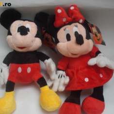 MICKEY MOUSE SI MINIE MOUSE DIN CLUB HOUSE MICKEY DISPONIBILE IN VARIANTA MEDIE 40 CM - Jucarii plus Disney