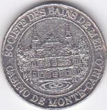 Jeton Casino de Monte-Carlo 20 Euro Centi