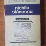 D2 Nichita Stanescu interpretat de ....Editie ingrijita de Sanda Anghelescu - Roman, Anul publicarii: 1983
