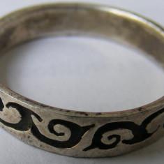 Verigheta barbateasca veche din argint frumos decorata - de colectie