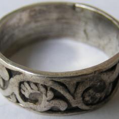 Verigheta veche din argint frumos decorata (1) - de colectie