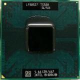 Procesor INTEL Core2Duo T5500, 2M, 1.66 GHz, 667 MHz) SL9SH sk M 478 laptop, 1500- 2000 MHz