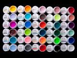 KIT SET 30 MODELE GEL GELURI PENTRU LAMPA UV COLOR COLORATE 5 ML, Gel colorat