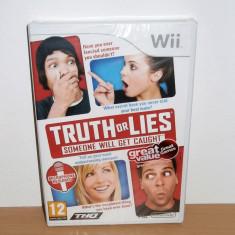 Joc Wii / Wii U - Truth or Lies , nou , sigilat, Board games, Toate varstele