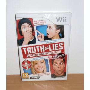 Joc Wii / Wii U - Truth or Lies , nou , sigilat