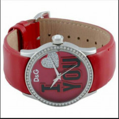 Ceas Dolce & Gabbana - Ceas dama Dolce & Gabbana, Fashion, Quartz, Piele, Analog, Diametru carcasa: 40