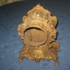 Carcasa Ceas Bronz Baroc veche, perioada 1900, stare buna.