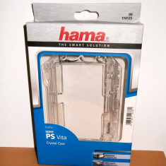 PS Vita - carcasa de protectie Crystal Case , transparenta , marca Hama , noua