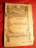 A. Vlahuta - Nuvele - Ed. 1908 , BPT nr. 319 , Ed. L.Alcalay, Alta editura