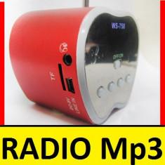 MINI Boxa portabila MP3 PLAYER RADIO