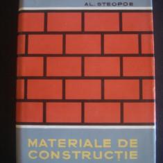 AL. STEOPOE - MATERIALE DE CONSTRUCTIE