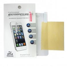 Folie TIPLA PROTECTIE iPhone 5/5S Super Transparenta SCREEN GUARD Professional Simpla Mata Fata Spate - Folie de protectie Apple