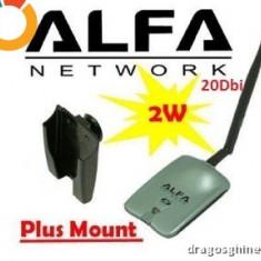 Alfa AWUS036H AWUS 036H Wireless USB Network Adapter antena 20dbi 1W - Adaptor wireless