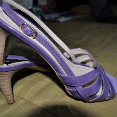 Sandale Musette - Sandale dama, Mov, Marime: 37