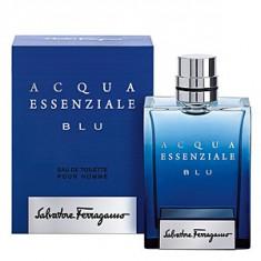 Salvatore Ferragamo Acqua Essenziale Blu EDT 100 ml pentru barbati - Parfum barbati Salvatore Ferragamo, Apa de toaleta