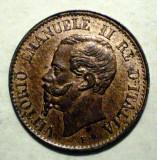 E.422 ITALIA VITTORIO EMANUELE II 1 CENTESIMO 1867 M AUNC, Europa