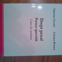 Drept Penal Partea Speciala, Caiet de Seminar, Valerian Cioclei, Cristina Rotaru, C.H. Beck, 2009 - Carte Drept penal