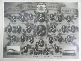 FOTOGRAFIE VECHE  - OFITERI REGIMENTUL 40 ARTILERIE -  1939 - FORMAT MARE