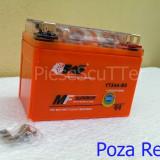 Baterie - Acumulator Moto Scuter 12v ( volti ) 4A ( amperi ) 12 v 4 A ( GEL ) - Baterie Moto