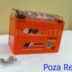 Baterie - Acumulator Moto Scuter 12v ( volti ) 4A ( amperi ) 12 v 4 A ( GEL )