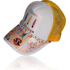 "Sapca Trucker I LOVE LOLLIPOPS ""Fashion Caps Romania"" - Sapca Barbati, Marime: Marime universala, Culoare: Din imagine"