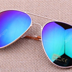 Ochelari soare unisex model Aviator - expediere gratuita Posta Fan Courier - sell by Phonica