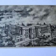 C.P. CERCUL MILITAR CHISINAU ANII 20 - Carte Postala Bucovina 1904-1918