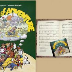Songs of Adventure de Margareta Othman-Sundell, cantece engleza pt copii, cu CD