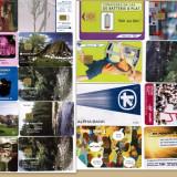 Colectie cartele telefonice romanesti si straine- 25 de bucati diferite +5 dubluri