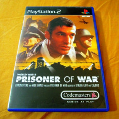 Joc Prisoner of War, PS2, original, alte sute de jocuri! - Jocuri PS2 Codemasters, Actiune, 12+, Single player