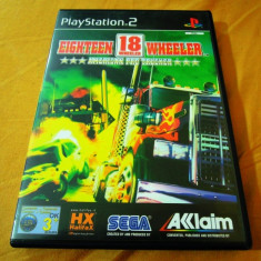 Joc Eighteen 18 Wheeler American Protrucker, PS2, original, alte sute de jocuri! - Jocuri PS2 Sega, Curse auto-moto, 3+, Single player