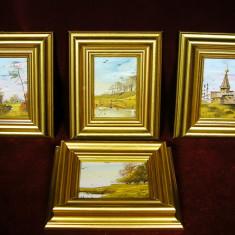 SUPERBE TABLOURI, PICTURA IN ULEI, GERMANIA - Pictor strain, Natura, Realism