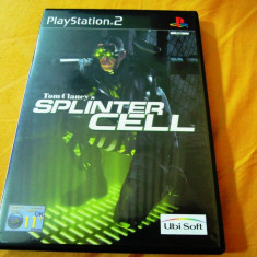 Joc Tom Clancy's Splinter Cell, PS2, original, alte sute de jocuri! - Jocuri PS2 Ubisoft, Actiune, 12+, Single player