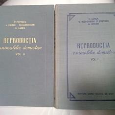 REPRODUCTIA ANIMALELOR DOMESTICE - 2 VOLUME - Carte Medicina veterinara