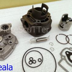 Kit Cilindru - Set motor + CHIULOASA Scuter Gilera DNA 80cc - 4 colturi - Set cilindri Moto