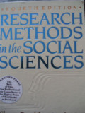 D.NACHMIAS;CH. FRANKFORT-NACHMIAS - RESEARCH METHODS IN THE SOCIAL SCIENCES
