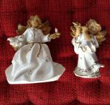 2 buc. - Frumosi ingersi din ceramica - Decor !!!