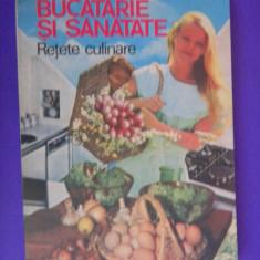 BUCATARIE SI SANATATE Retete culinare Nicolae Mihai - Carte Retete traditionale romanesti