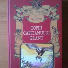 W Copiii capitanului Grant - Jules Verne (cartonata, stare excelenta) - Carte de povesti