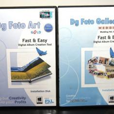 Dg Foto Art Gold v2. 0 + Dg Foto Galleria vol. -39 - vol. -52 - Software Grafica, Editari foto si digitale, Windows 7, DVD, Altul