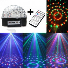 Glob LASER DISCO LED CLUB PARTY telecomanda stick - Lumini club