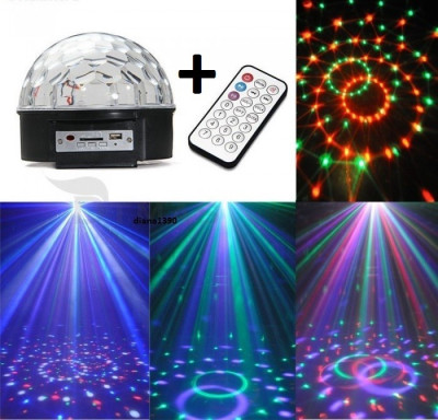Glob  LASER DISCO LED CLUB PARTY telecomanda stick foto
