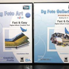 Dg Foto Art Gold v. 2.0 + Dg Foto Galleria vol. -01 - vol. -20 - Software Grafica, Editari foto si digitale, Windows 7, DVD, Altul