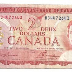 Canada 2 Dolari Dollars 1974 U