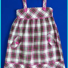 Sarafan stofa bumbac, captusit, CHILDREN'S PLACE → fete | 8—10 ani | 140 cm