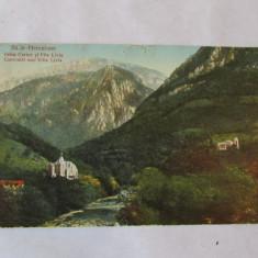 Cp-BAILE HERCULANE-VILA LIVIA-rara!!!! - Carti Postale Romania dupa 1918, Circulata